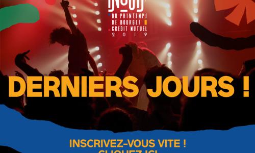 iNOUïS 2019 : Derniers jours pour vous inscrire !