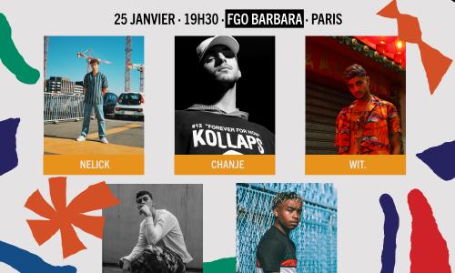 Auditions Ile-de-France Hip-Hop : CHANGEMENT DE LIEU !