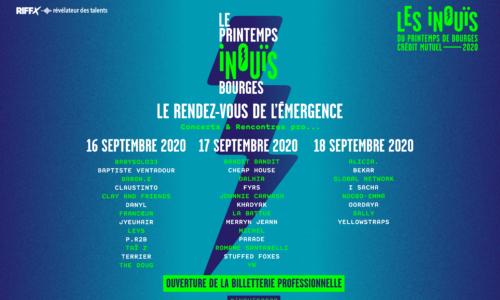 PRINTEMPS iNOUïS : OUVERTURE DE LA BILLETTERIE PROFESSIONNELLE !